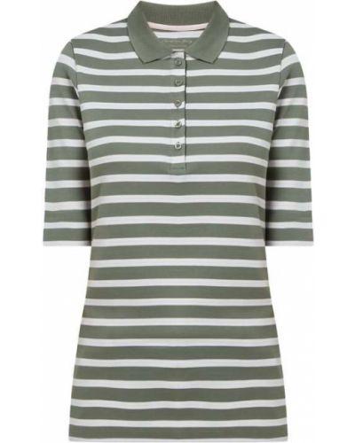 T-shirt bawełniana - zielona Christian Berg Women
