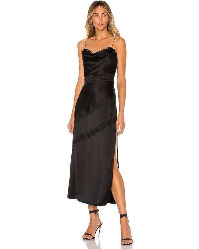 Кружевное черное коктейльное платье на молнии X By Nbd