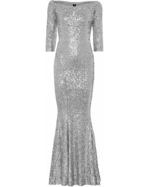 Вечернее платье с пайетками платье-русалка Norma Kamali