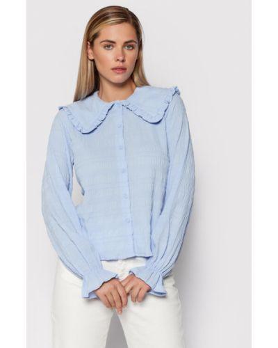 Niebieska bluzka Noisy May