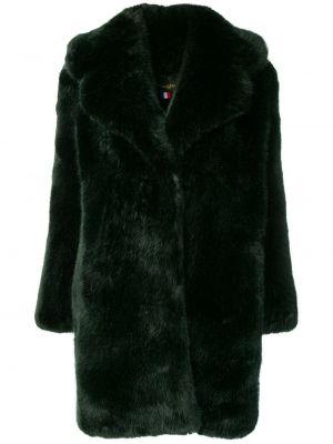 С рукавами акриловое прямое коралловое длинное пальто La Seine & Moi