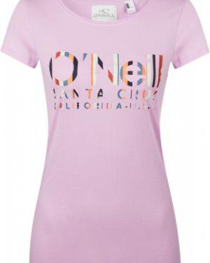 Спортивная футболка - розовая O`neill
