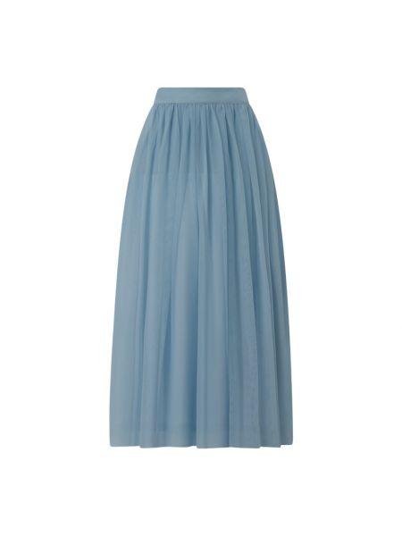Długa spódnica tiulowa - niebieska Lace & Beads