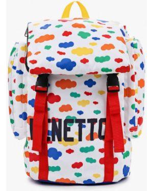 Рюкзак белый United Colors Of Benetton