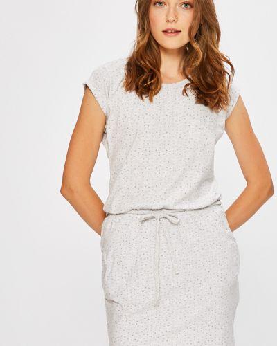 Платье мини с поясом из вискозы Fresh Made