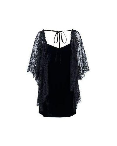 Бархатное вечернее платье - черное Roberto Cavalli