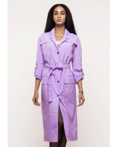 Плащ фиолетовый Victoria Bloom