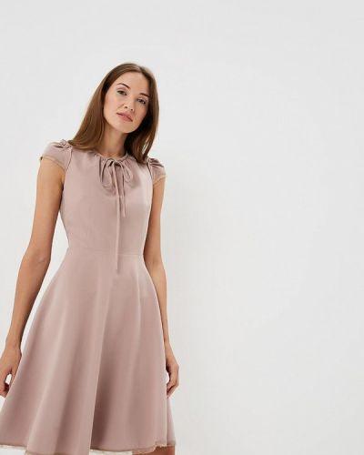 Бежевое платье Lusio