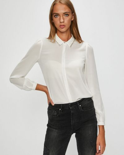 Блузка с длинным рукавом прямая на пуговицах Morgan