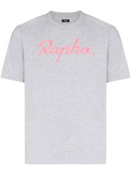 Koszula krótkie z krótkim rękawem z haftem sport Rapha
