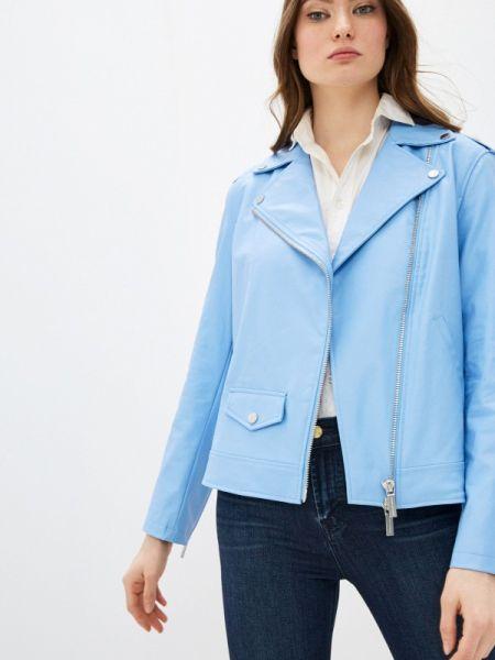 Кожаная куртка весенняя Armani Exchange