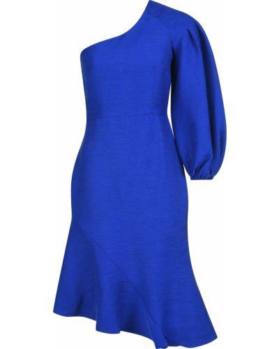 Платье из полиэстера - синее Elliatt