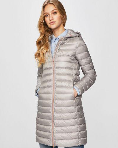 Куртка с капюшоном стеганая с карманами Geox