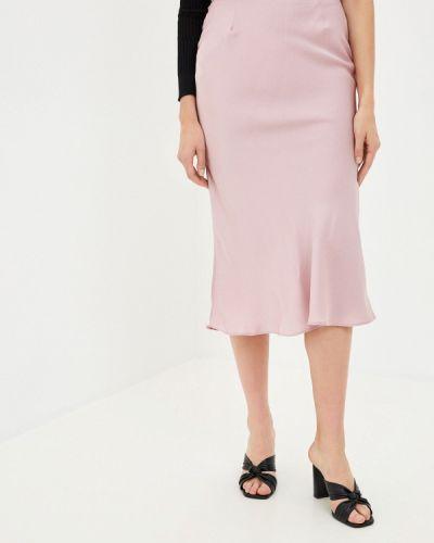 Розовая прямая юбка карандаш Glamorous