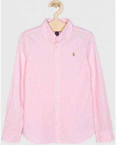 Блуза розовый на пуговицах Polo Ralph Lauren