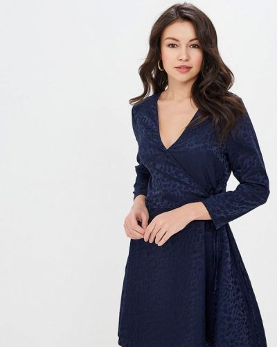 Платье - синее Miss Miss By Valentina