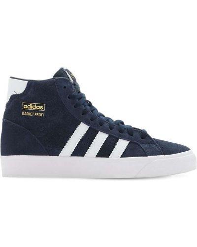 Skórzany ażurowy sneakersy na sznurowadłach Adidas Originals