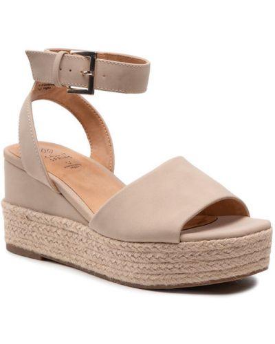 Sandały espadryle - beżowe Call It Spring
