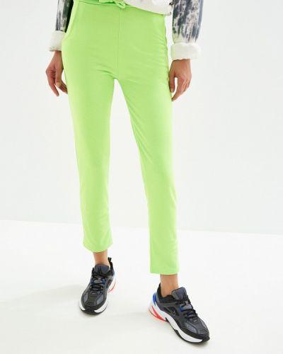 Спортивные брюки зеленый By Swan