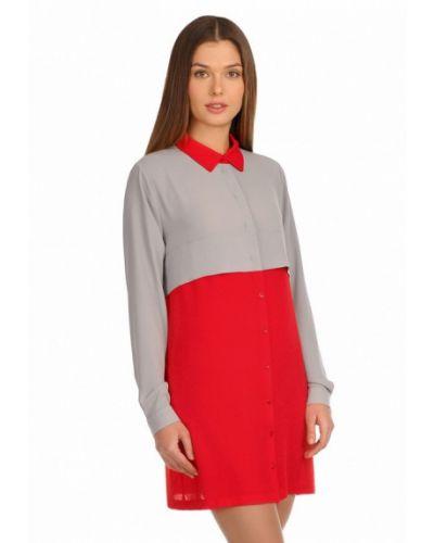 Красное платье City Jungle