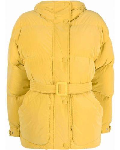 Стеганая куртка - желтая Ienki Ienki
