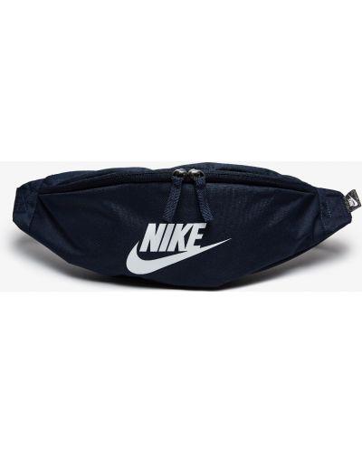 Синяя сумка из полиэстера Nike