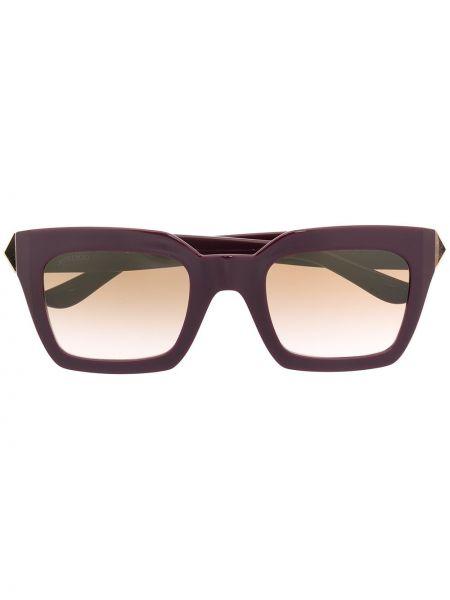 Фиолетовые солнцезащитные очки Jimmy Choo Eyewear