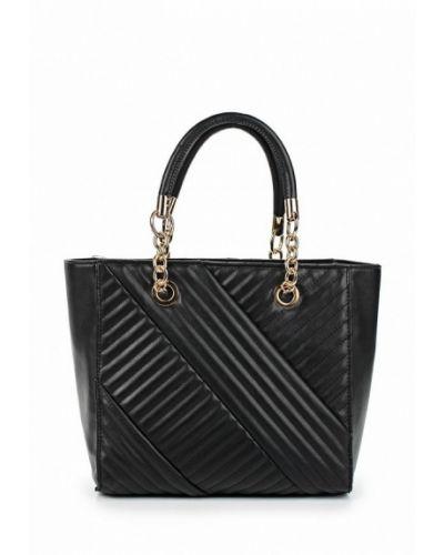 Кожаный сумка черный Fabretti