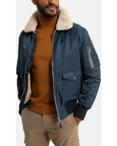 Куртка-пилот - синяя La Redoute