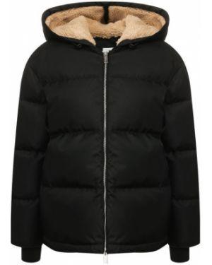 Куртка черная с перьями Burberry