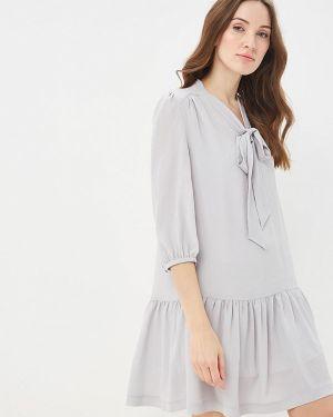 Платье серое Villagi