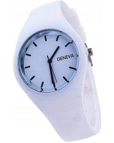 Biały sport zegarek sportowy Geneva