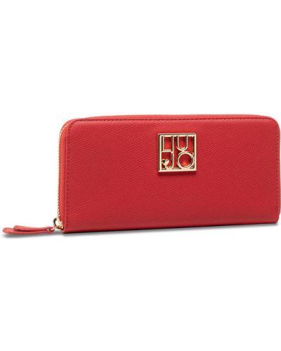 Czerwony portfel oversize Liu Jo
