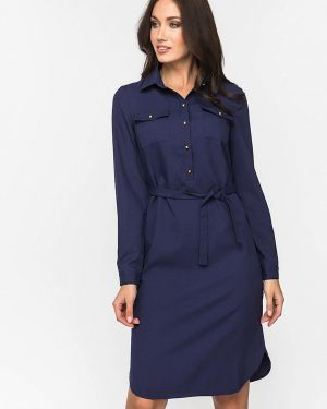 Платье платье-рубашка осеннее Gloss