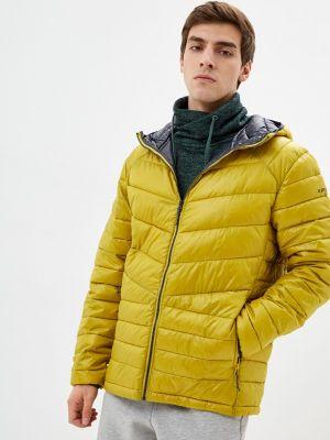 Утепленная куртка - желтая Icepeak