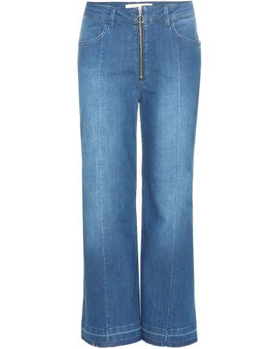 Широкие джинсы укороченные mom By Malene Birger