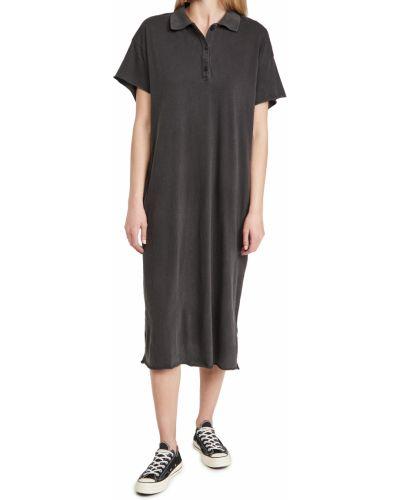 Текстильное платье с воротником The Great.