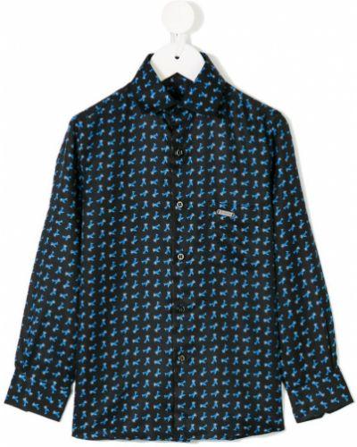 Рубашка синий Stefano Ricci Kids
