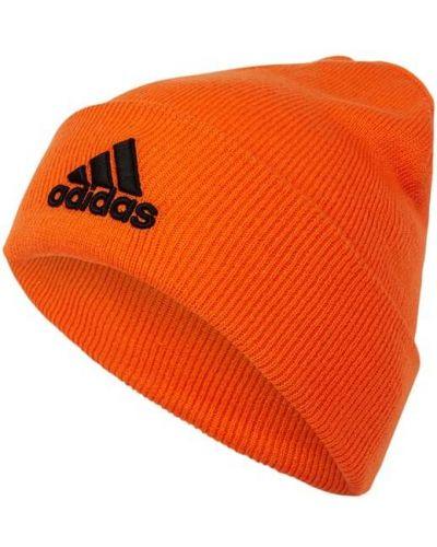 Czapka beanie - pomarańczowa Adidas Performance