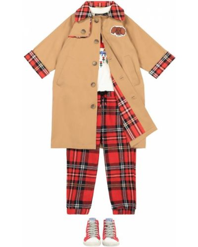 Bawełna beżowy bawełna klasyczny klasyczny płaszcz Mini Rodini