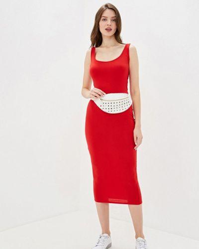 Платье платье-майка красный Malaeva