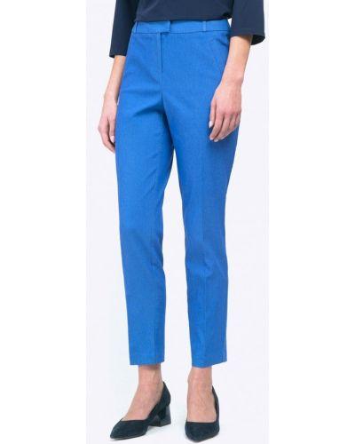 Синие брюки прямые Emka