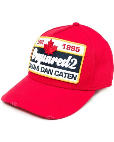 Bawełna bawełna czapka z daszkiem z haftem bezpłatne cięcie Dsquared2