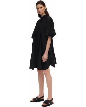 Платье с поясом на пуговицах платье-майка Sacai