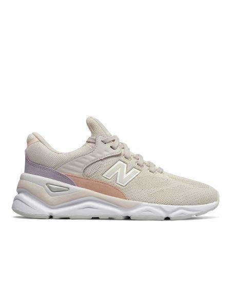 Низкие кеды на платформе на шнуровке New Balance