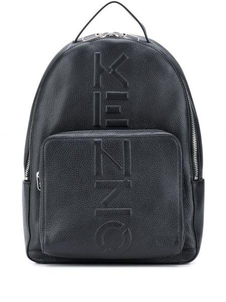 Skórzany plecak na paskach Kenzo