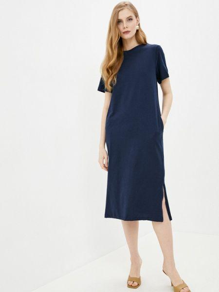 Синее футбольное платье Marks & Spencer