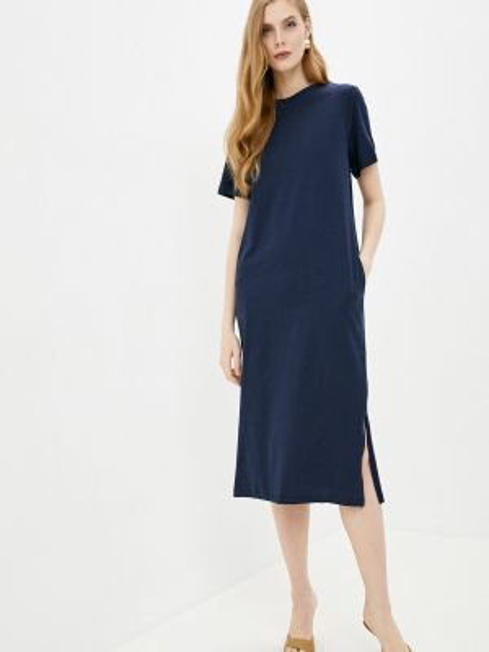 Платье футболка синее Marks & Spencer