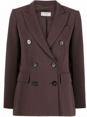 Коричневая куртка с карманами Alberto Biani