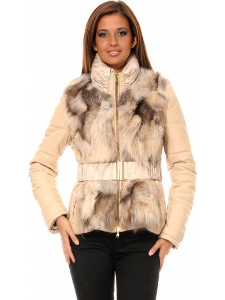 Текстильная куртка - бежевая Mor`a